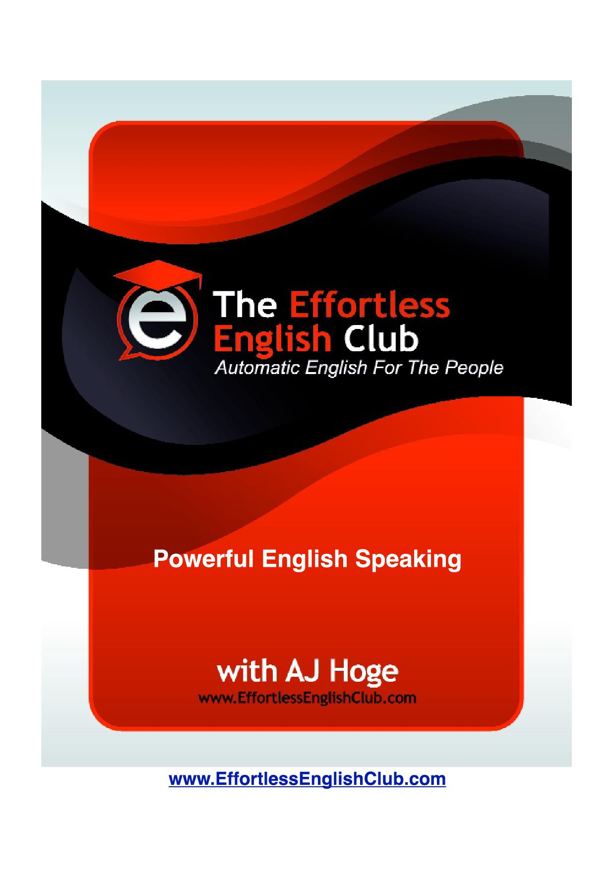 Powerful English Speaking